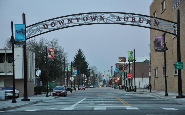 downtown auburn, mayor backus, state of the city, downtown auburn, nancy backus