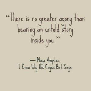 Maya Angelou, International Women's Day