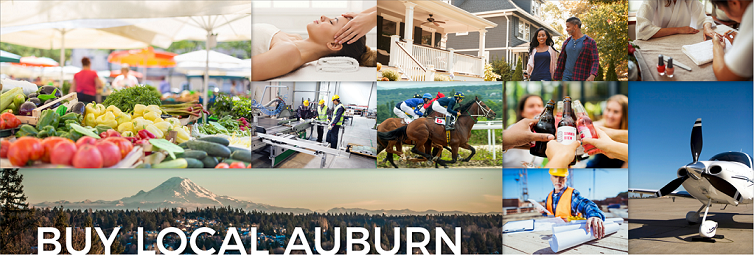 City of Auburn encourages residents to Buy Local