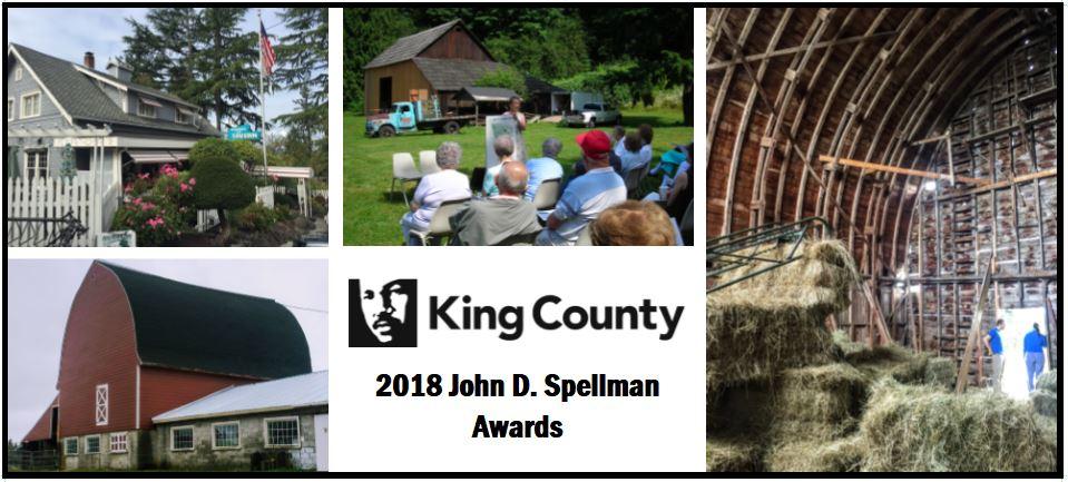 Historic Auburn sites receive John D. Spellman Award