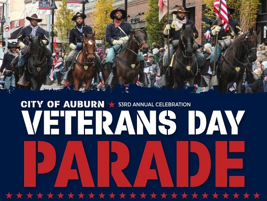 Auburn honors Veterans with 53rd Auburn's Veterans Day Parade