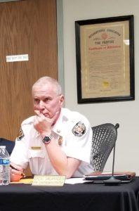 Chief Swearingen, Fire Chief, VRFA, Brent Swearingen