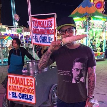 shaney morey, Mexico carnival, street food, giant corn on the cob, delicious food, fun in mexico