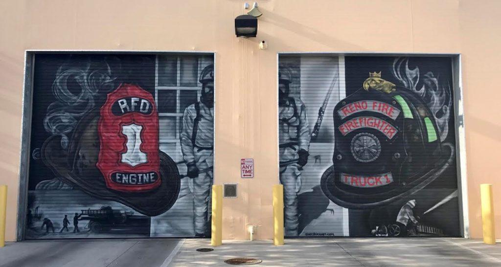 Reno Fire Department, Reno FD, RFD, Public Art, City of Reno, Fire Department