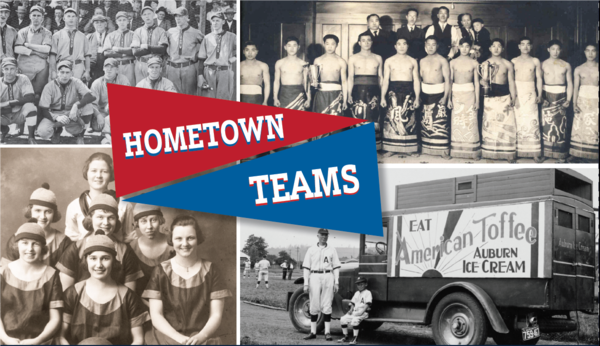white river valley museum, hometown teams exhibit