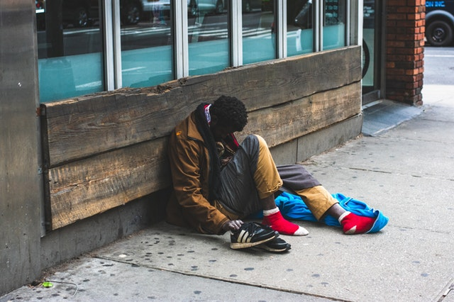 Malcolm Garret, homeless, alone,