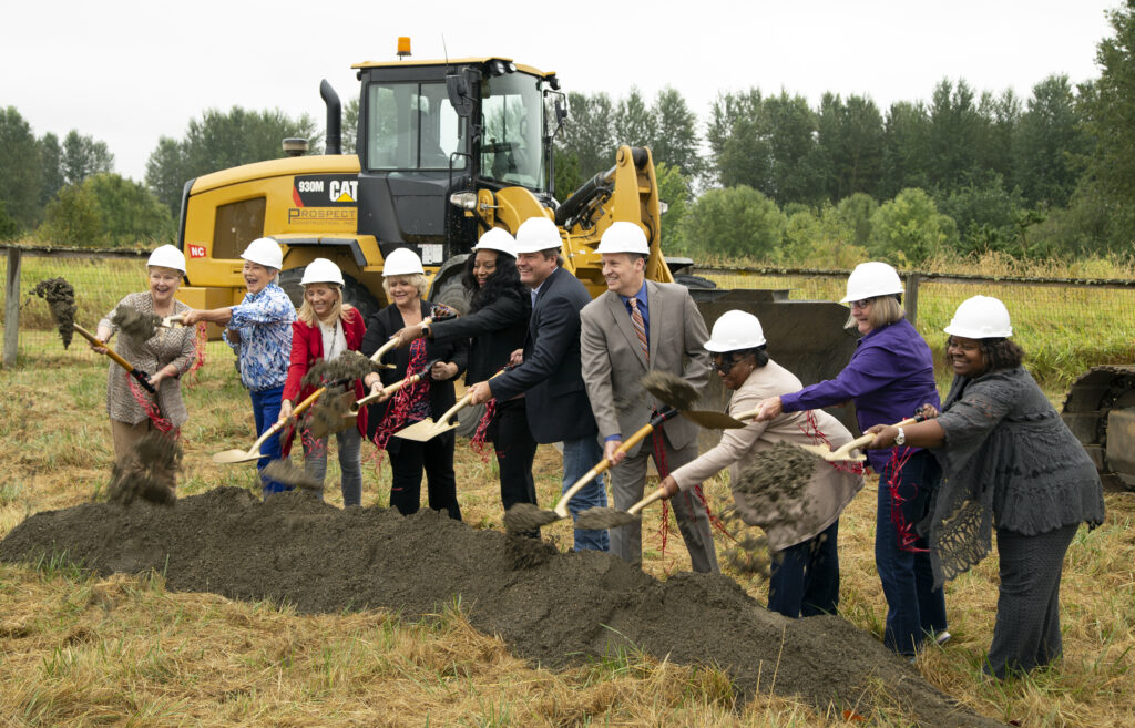 king county, green river ground breaking