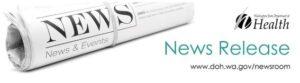 Washington State Department of Health News Release logo