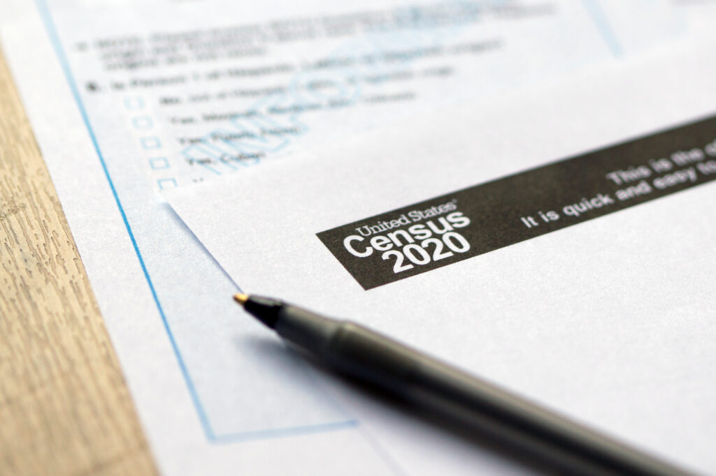 Census 2020 forms