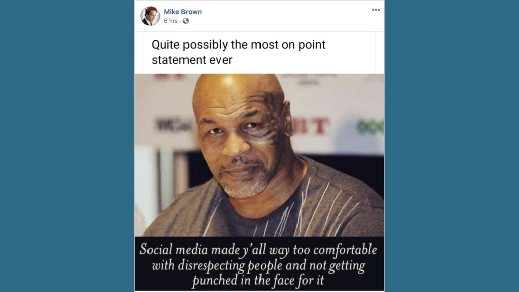 mike tyson meme, mike brown kcso, mike brown dow constantine, mike brown king county sheriff's office, mike brown facebook, mike brown seattle, mike brown king county, mike brown kcso deputy, mike brown seattle sheriff, mike brown king county sheriff deputy