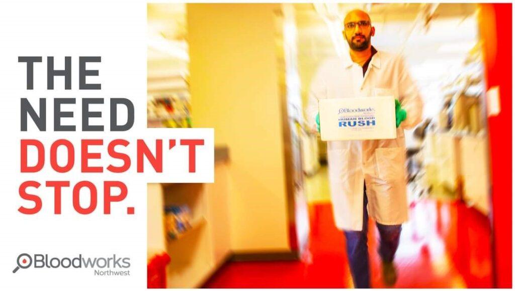bloodworks northwest, blood donation, blood supply critical, blood donation location, bloodworks nw