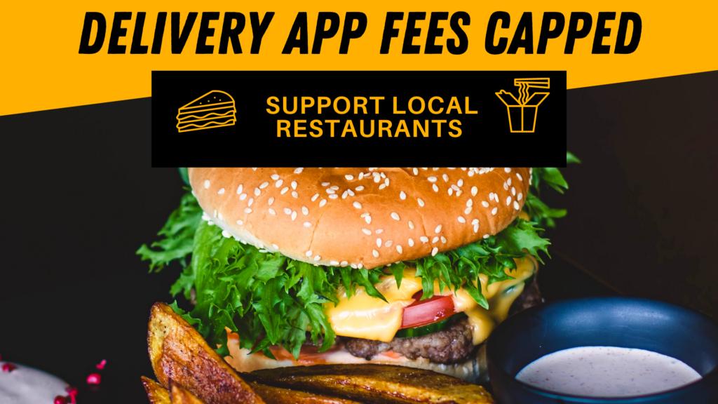 delivery app fees, doordash, grubhub, postmates, ubereats, auburn wa restaurants, order delivery, cap on third party apps, inslee,