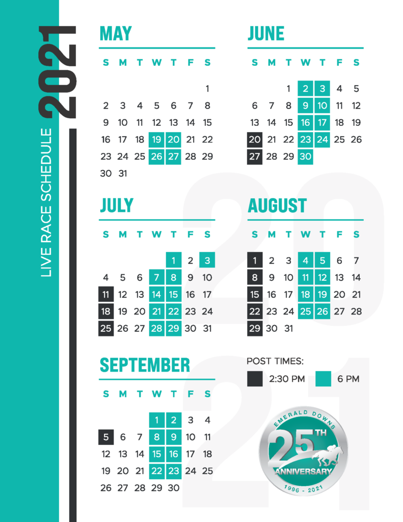 emerald downs 2021 race schedule