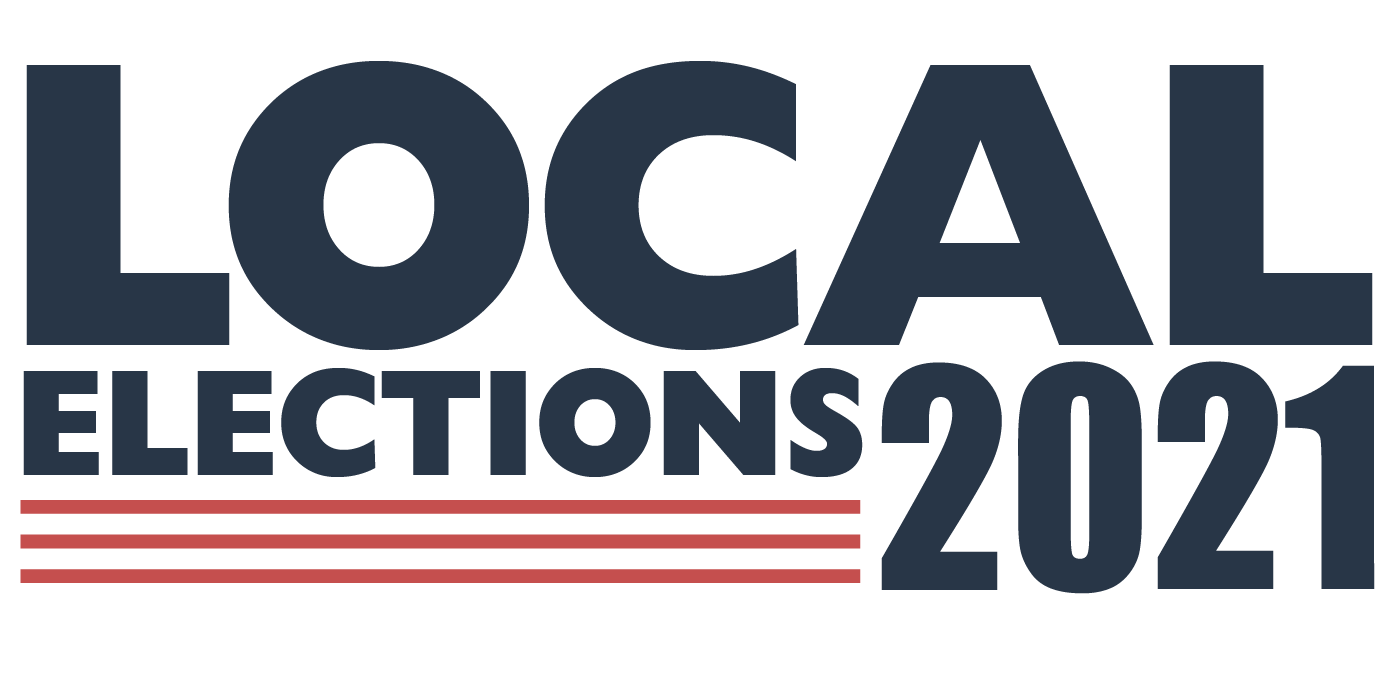 local elections 2021 graphic