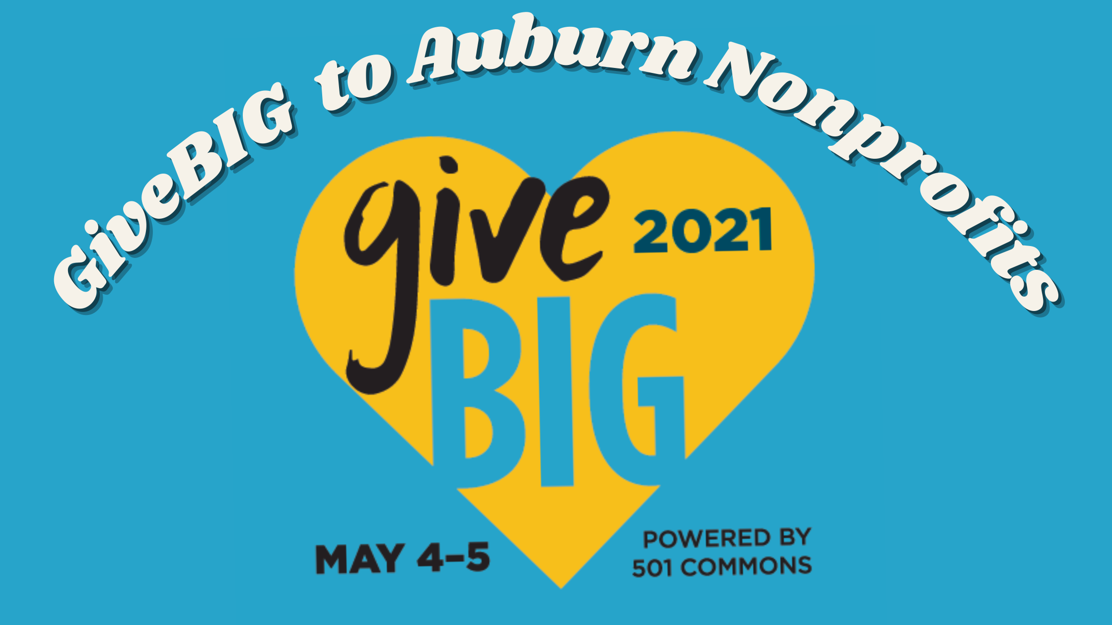 graphic for the 2021 GiveBIG event, information is included in the article