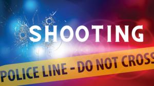 a stock shooting news graphic