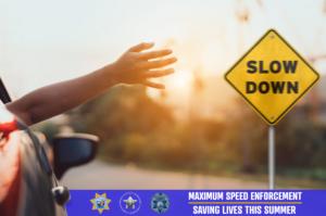 WSP graphic for maximum speed enforcement