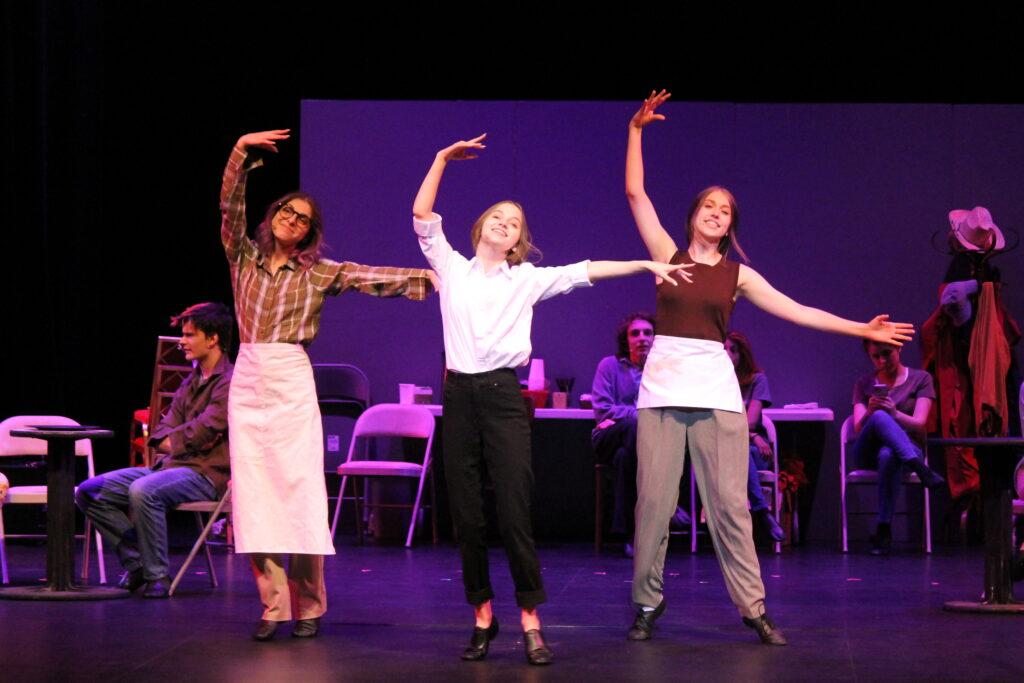Auburn Teen Community Players rehearse Working: The Musical