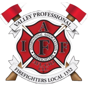 the Valley Professional Firefighters Local IAFF 1352 logo