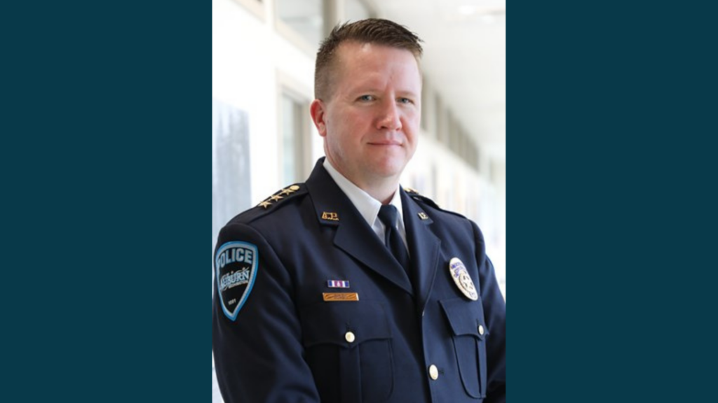 Official photo of Chief Dan O'Neil in his dress uniform