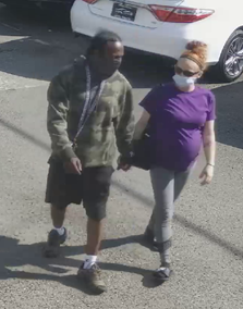 WSP provided photo of a female and female allegedly involved in an armed robbery