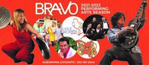 City of Auburn graphic for Bravo 2021-2022 season